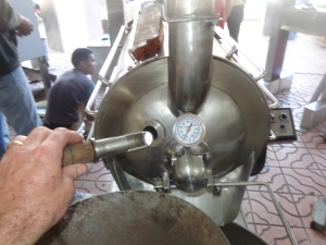 These are pictures of some of the chocolate processing machines made in the DR.